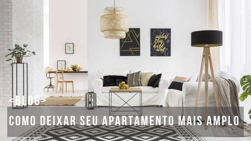 como deixar seu apartamento mais amplo